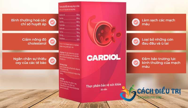 Công dụng thuốc Cardiol