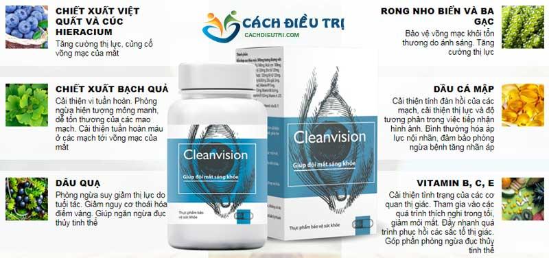 Thành phần clean vision