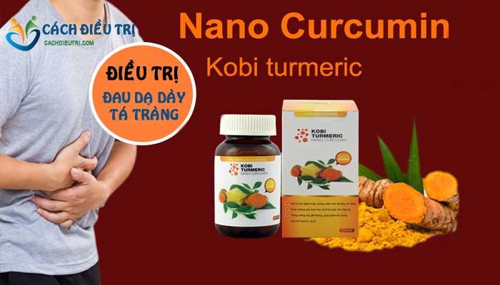 Thuốc Kobi Turmeric Nano Curcumin điều trị viêm loét dạ dày, tá tràng